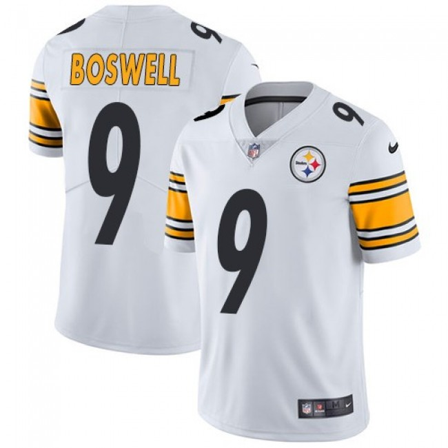 Pittsburgh Steelers #9 Chris Boswell White Youth Stitched NFL Vapor Untouchable Limited Jersey