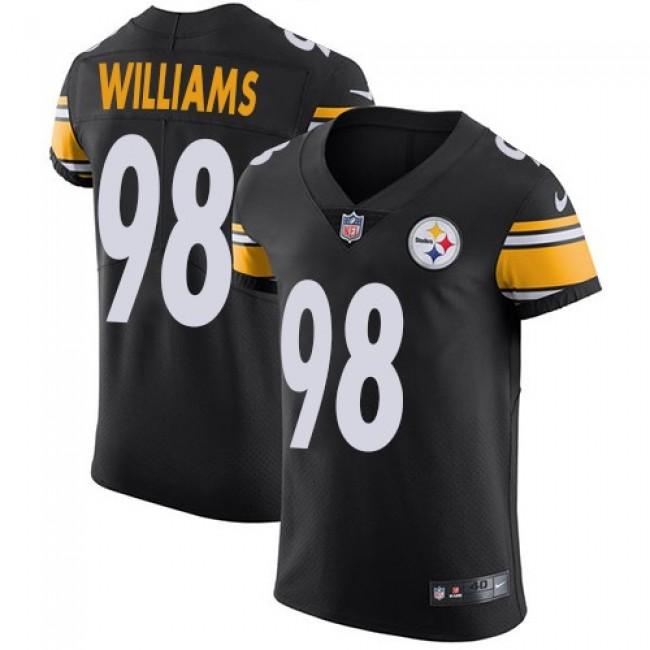 Nike Steelers #98 Vince Williams Black Team Color Men's Stitched NFL Vapor Untouchable Elite Jersey