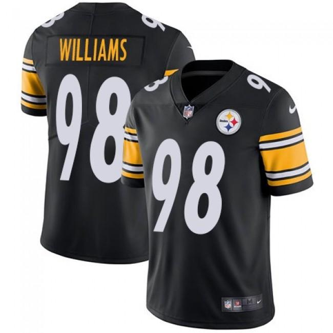 Nike Steelers #98 Vince Williams Black Team Color Men's Stitched NFL Vapor Untouchable Limited Jersey