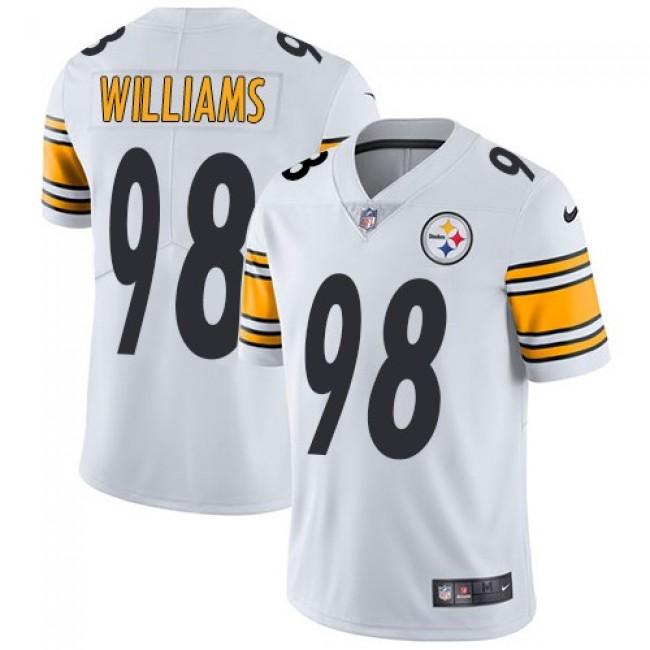 Nike Steelers #98 Vince Williams White Men's Stitched NFL Vapor Untouchable Limited Jersey