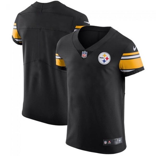 Nike Steelers Blank Black Team Color Men's Stitched NFL Vapor Untouchable Elite Jersey