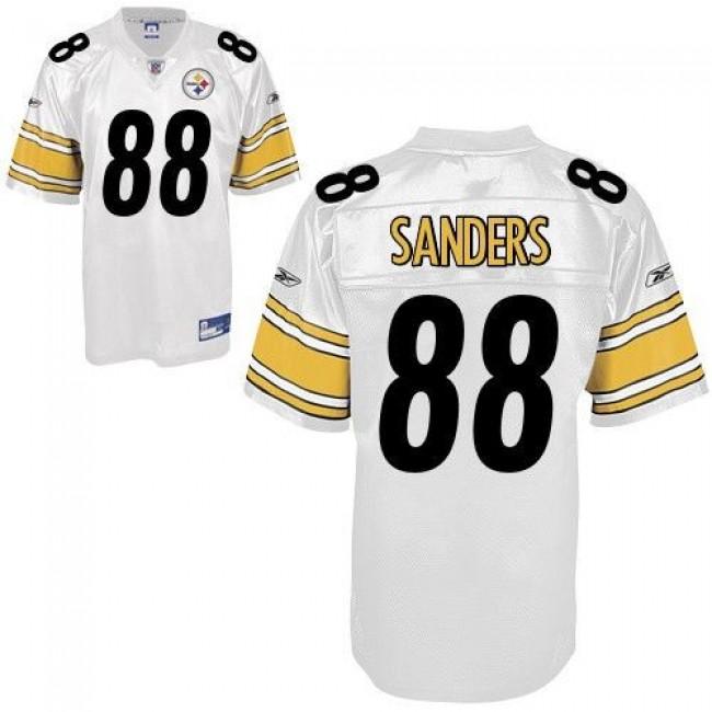 Steelers #88 Emmanuel Sanders White Stitched NFL Jersey